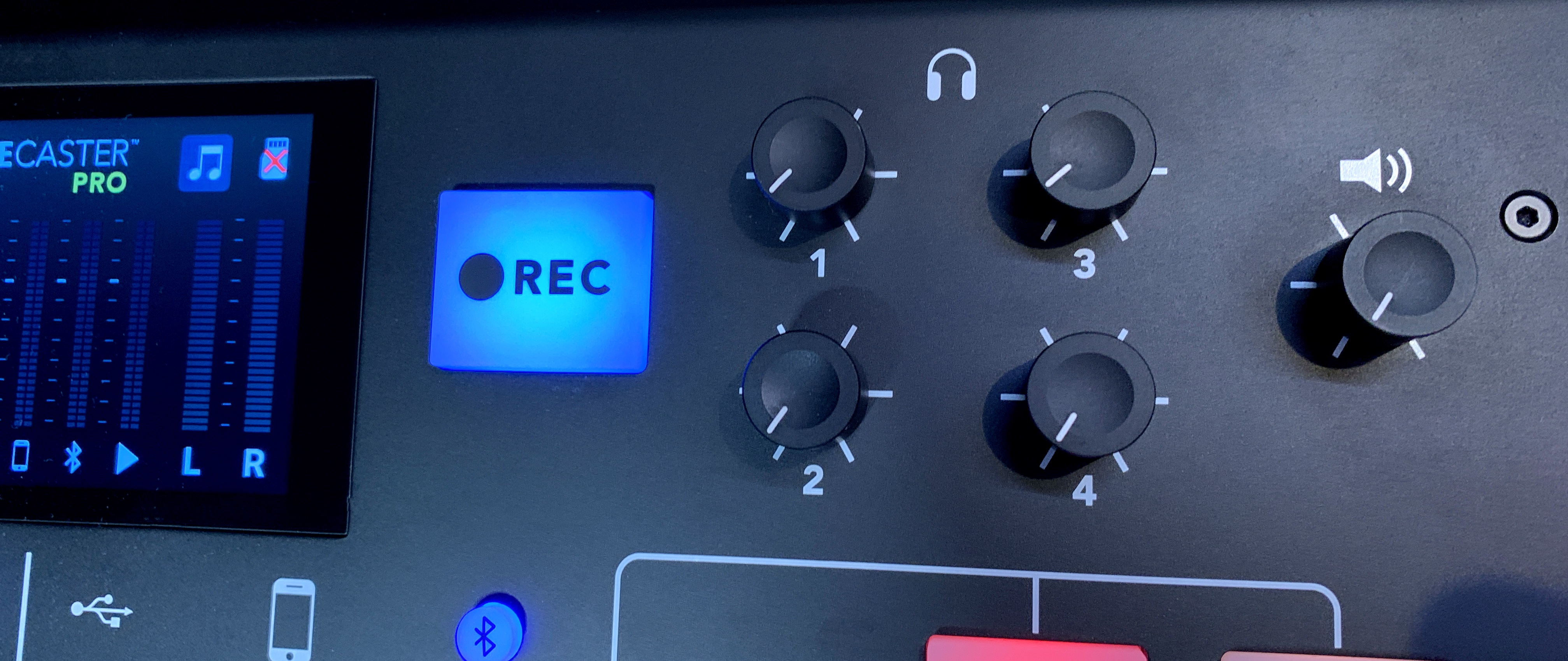 Image of output controls