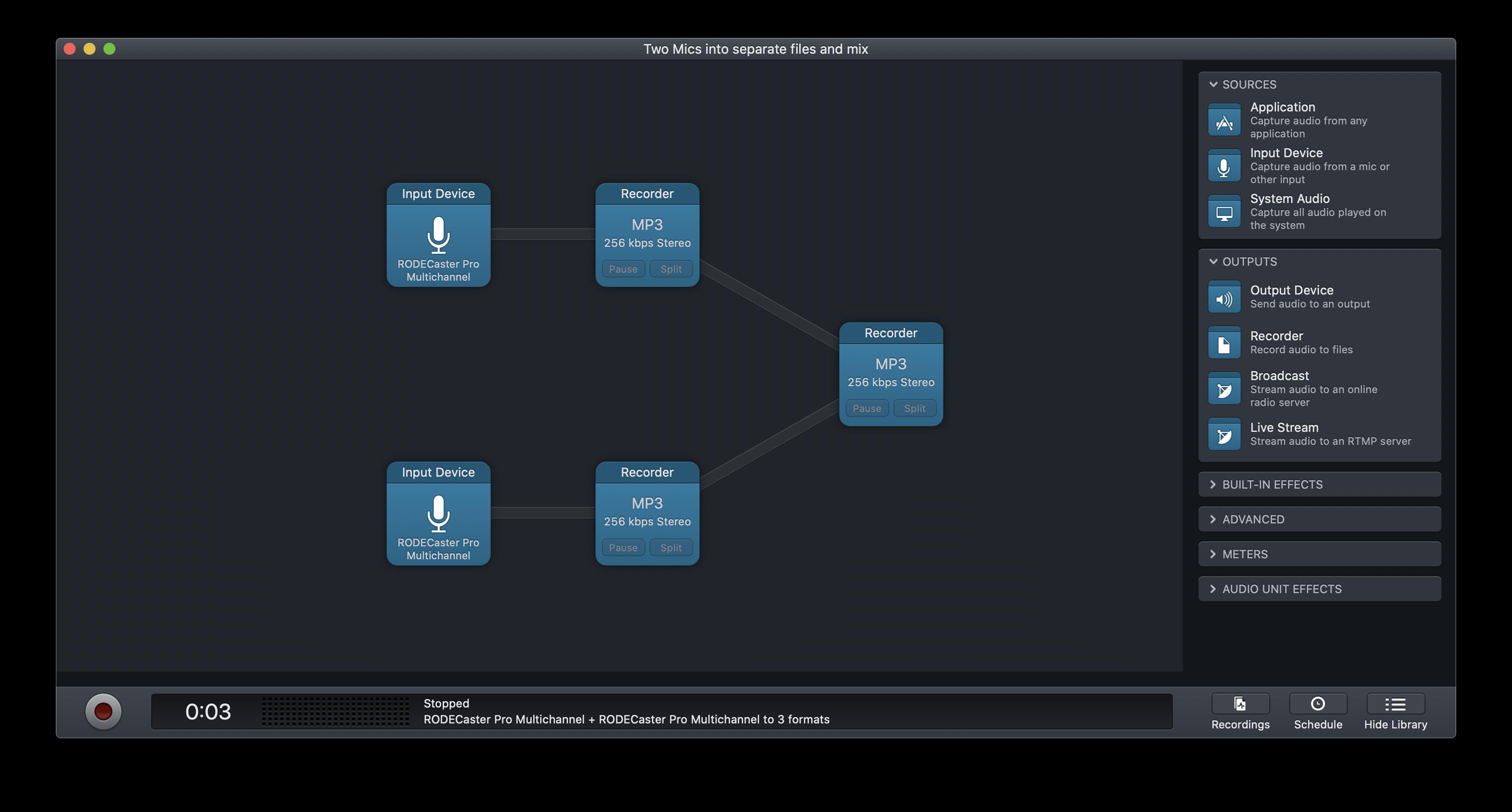 A project flow
